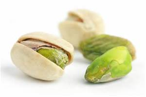 Closeup Of Pistachios
